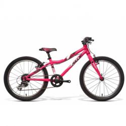 Detský horský bicykel AMULET-20 Tomcat, pink shine/black white shine