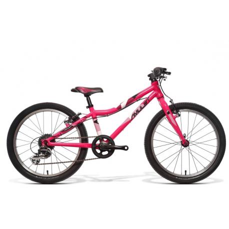 Dětské horské kolo AMULET-20 Tomcat, pink shine / black white shine