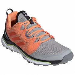 Dámská trailová obuv nízká ADIDAS-Terrex Agravic grey two / glory amber / amber tint