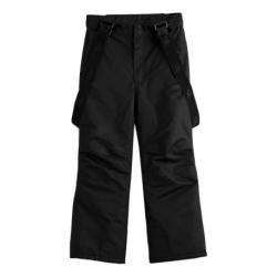 Chlapčenské lyžiarske nohavice 4F-BOYS SKI TROUSERS-HJZ20-JSPMN001-21S-BLACK