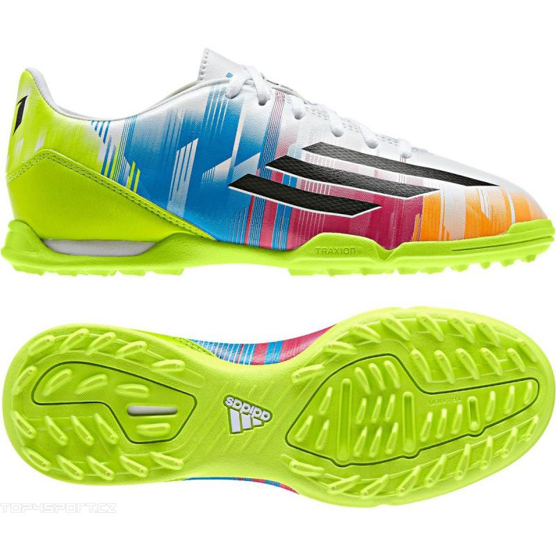 on sale 2cac7 7f0e5 Juniorské futbalové kopačky outdoorové ADIDAS-F10 TRX TF J Messi -