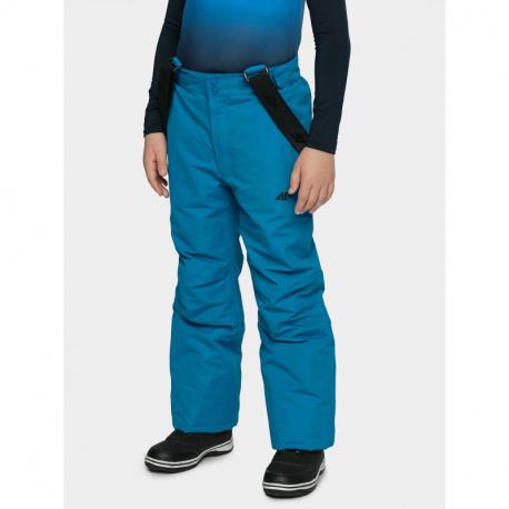 Chlapecké lyžařské kalhoty 4F-BOYS SKI TROUSERS-HJZ20-JSPMN001A-36S-COBALT