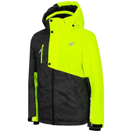 Chlapecká lyžařská bunda 4F-BOYS SKI JACKET-HJZ20-JKUMN002A-71N