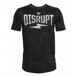 Pánské tréninkové triko s krátkým rukávem UNDER ARMOUR-UA PROJECT ROCK Disrupt SS-BLK
