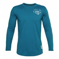 Pánské tréninkové triko s dlouhým rukávem UNDER ARMOUR-UA PJT ROCK GET TO WORK LS-BLU