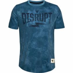 Pánské tréninkové triko s krátkým rukávem UNDER ARMOUR-UA PROJECT ROCK Disrupt SS-BLU