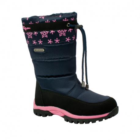 Detská zimná obuv WOJTYLKO-Clawton blue