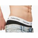 Pánske boxerky CALVIN KLEIN-CK LOW RISE TRUNKS-3 pack Black -