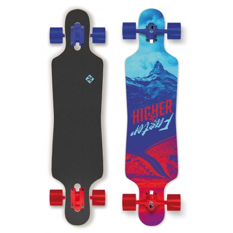 Longboard STREET SURFING-FREERIDE 39 CURVE Vyšší rychlost