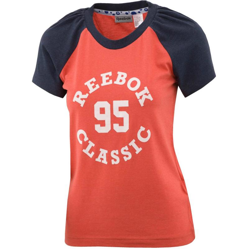596edc359e4f Dámske tričko s krátkym rukávom REEBOK-VARSITY 95 GR T   BRCAME -