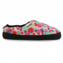 Detské papuče (domáca obuv) NUVOLA-Classic Printed Pomp Pink K -