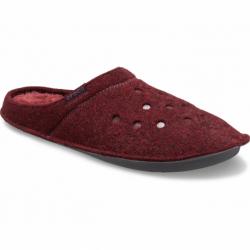 Papuče (domáca obuv) CROCS-Classic Slipper burgundy/burgundy