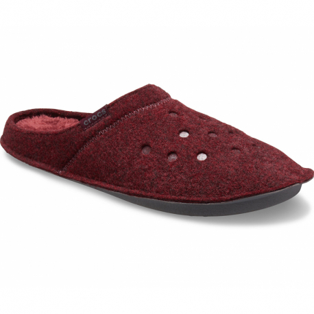 Pantofle (domácí obuv) CROCS-Classic Slipper burgundy / burgundy
