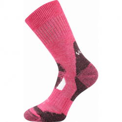 Dámské turistické ponožky VOXX-Stabil Climayarn-pink