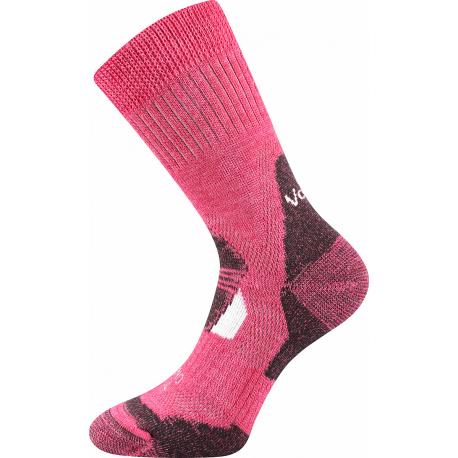 Dámské turistické ponožky VOXX-MERINO Stabil Climayarn-pink