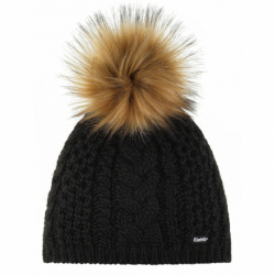 Zimná čiapka EISBÄR-Afra Lux MÜ Black