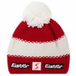 Zimní čepice Eisbär-Star Pompon MÜ SP White