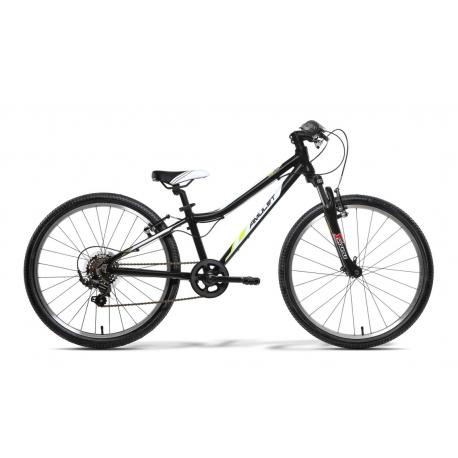 Juniorský horský bicykel AMULET-Team 24 Černý