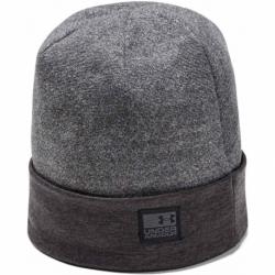 Zimní čepice UNDER ARMOUR-CGI Fleece Beanie -BLK