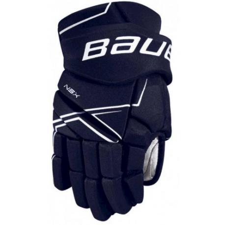 Hokejové rukavice BAUER-S18 NSX GLOVES - SR