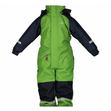 Dětský zimní overal FIVE SEASONS-JILO OVERALL JR-Green Melange