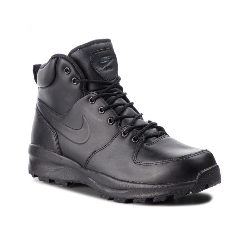 NIKE-Manoa Leather black/black/black Čierna 44,5