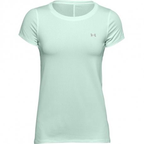 Dámske tréningové tričko s krátkym rukávom UNDER ARMOUR-UA HG Armour SS-BLU 403