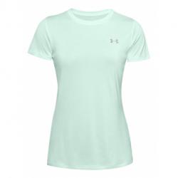 Dámské tréninkové tričko s krátkým rukávem UNDER ARMOUR-Tech SSC - Twist-BLU