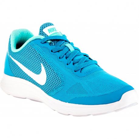 Juniorská sportovní obuv (tréninková) NIKE-Revolution 3 chlorine blue / white / hyper turq