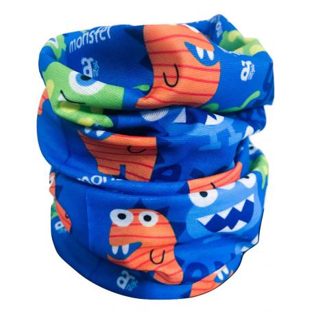 Dětská multifunkční šátek AUTHORITY-Tube for kids-MONSTER