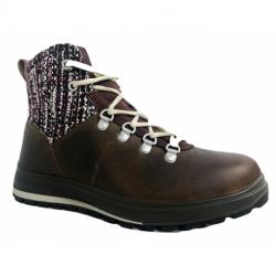 Dámské zimní boty kotníkové Grisport-Gaeta brown