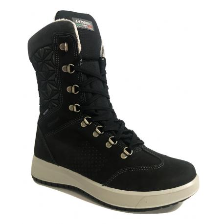 Dámské zimní boty vysoké Grisport-Caserta dk grey (EX)