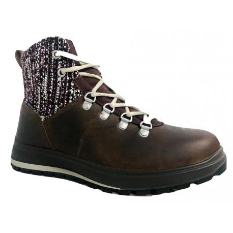 Dámské zimní boty kotníkové Grisport-Gaeta brown (EX)