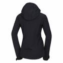 Dámska turistická softshellová bunda NORTHFINDER-VIKTORISA-269 Black -
