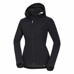 Dámská turistická softshellová bunda NORTHFINDER-VIKTORISA-269 Black