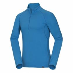 Pánská lyžařská mikina s 1/2 zipem NORTHFINDER-TRIH-281 Blue