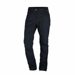 Dámske turistické softshellové nohavice NORTHFINDER-SERDZIKA-269 Black