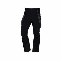Pánské lyžařské softshellové kalhoty NORTHFINDER-Hárs-269 Black