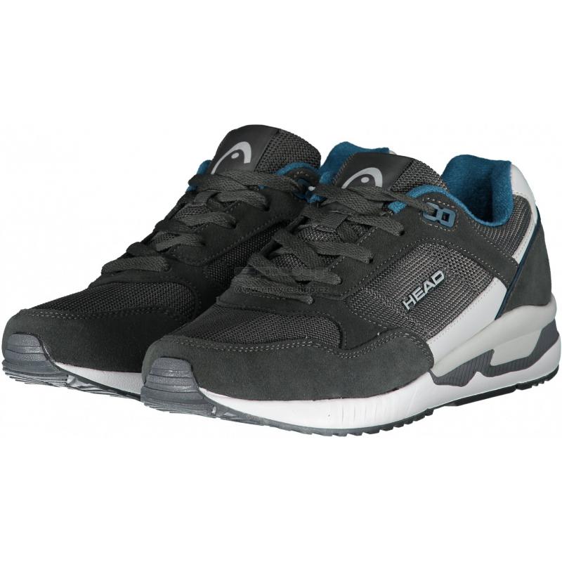 Pánska rekreačná obuv HEAD-Horn dark grey/blue -