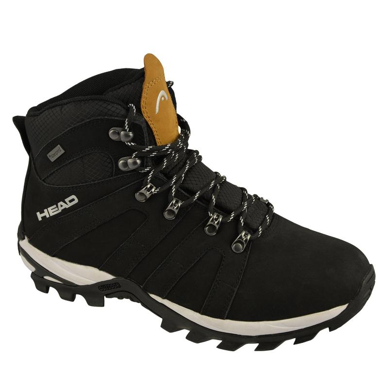 Pánska turistická obuv vysoká HEAD-Rila black (EX) -