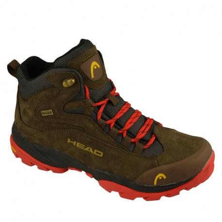 Pánska turistická obuv vysoká HEAD-Kenya brown (EX)