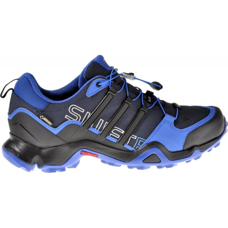 faa01dd662 Pánska turistická obuv nízka ADIDAS-TERREX SWIFT R GTX   BLUE BEAUTY F10    BLACK