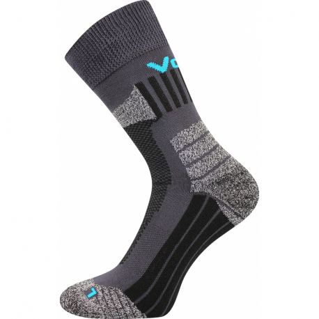 Turistické ponožky VOXX-EGOIST DARK GREY