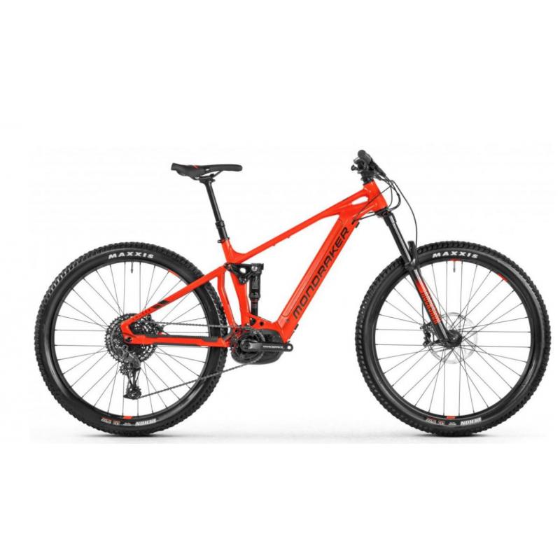 Horský elektrobicykel MONDRAKER-Chaser, red, 2021 -