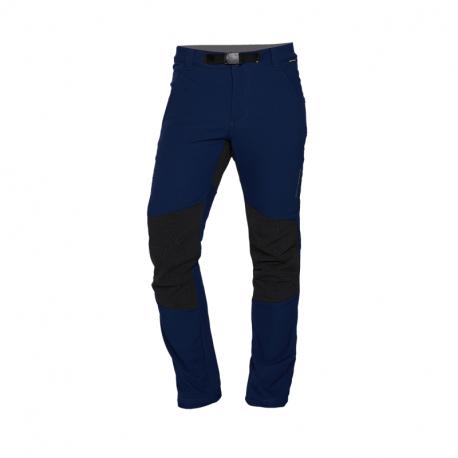 Pánske turistické zateplené nohavice NORTHFINDER-SERDZ-346 Blue