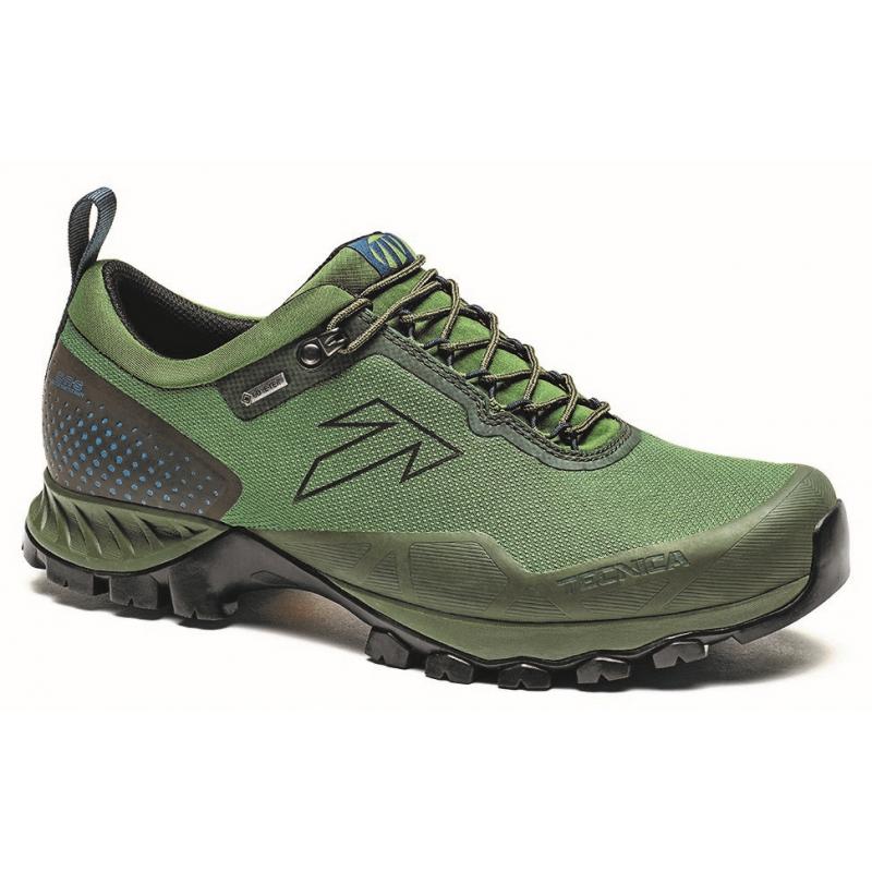 Pánska turistická obuv nízka TECNICA-Plasma S M GTX rich bosco/deep laguna -