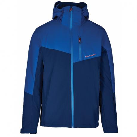 Pánská lyžařská bunda BLIZZARD-Mens Ski Jacket Cervinia, dark blue / petroleum blue