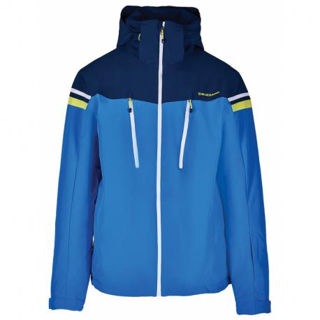 Pánská lyžařská bunda BLIZZARD-Mens Ski Jacket Civetta, bright blue / dark blue / white