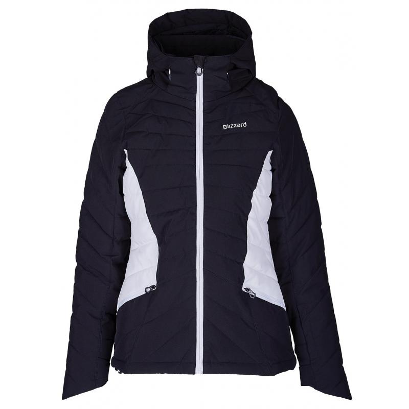 Dámská lyžařská bunda BLIZZARD-Viva Ski Jacket Pinzolo, black / white Černá XL
