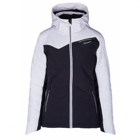 Dámská lyžařská bunda BLIZZARD-Viva Ski Jacket Carezza, black / white